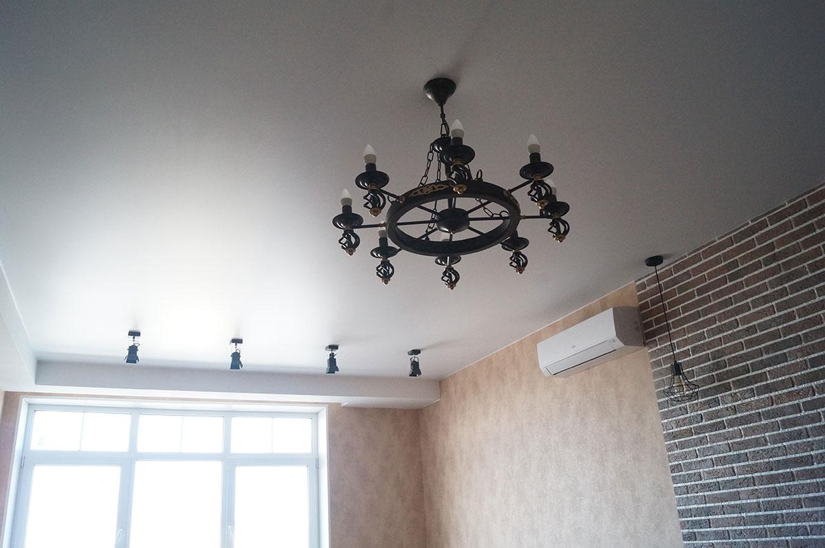 Натяжные потолки цена за 1м2 с установкой в Нижнем Новгороде 2